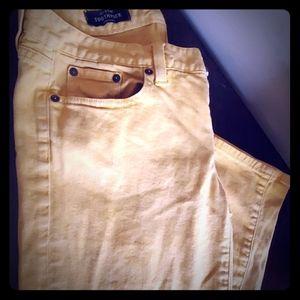 Mustard JCrew toothpick Size 29 pants